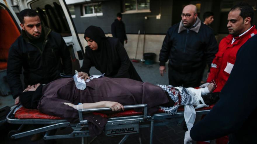 Fuerzas israelíes dejan al menos 14 palestinos heridos en Gaza | HISPANTV