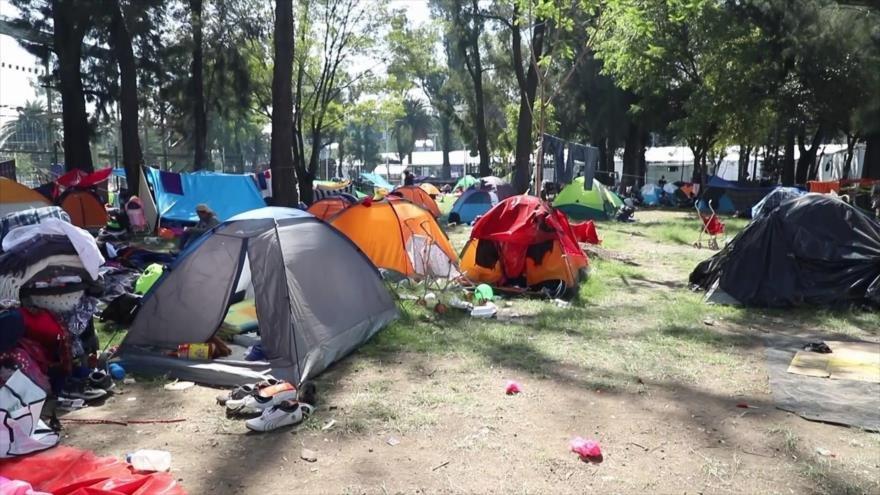 Más de 12 000 migrantes solicitan visa humanitaria a México