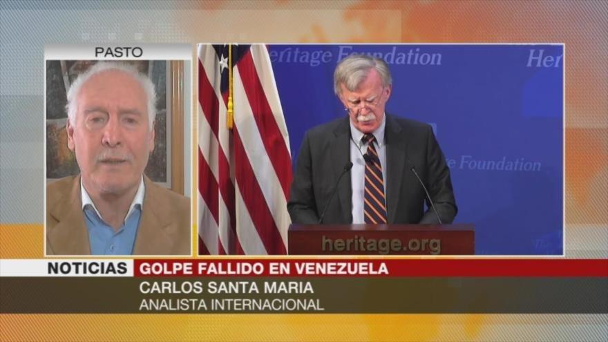 Santa María: EEUU y Reino Unido planean robar riqueza venezolana