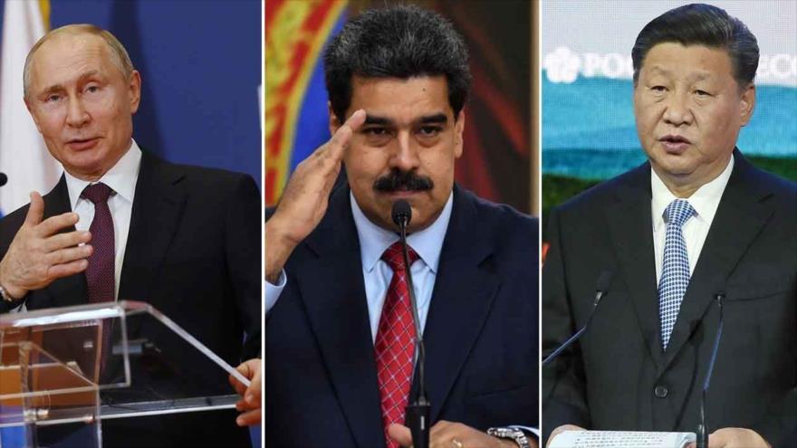 Alianzas estratégicas de Rusia y China con Venezuela