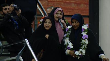 Marzie Hashemi regresa a Irán tras detención sufrida en EEUU