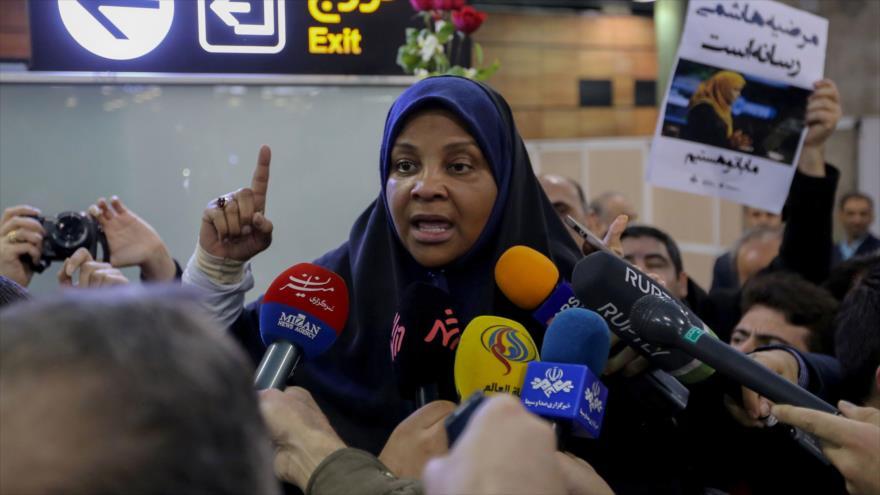 Hashemi vincula su detención con la hostilidad de EEUU con Irán