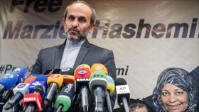Regreso de presentadora de Press TV a Irán es un fracaso para EEUU