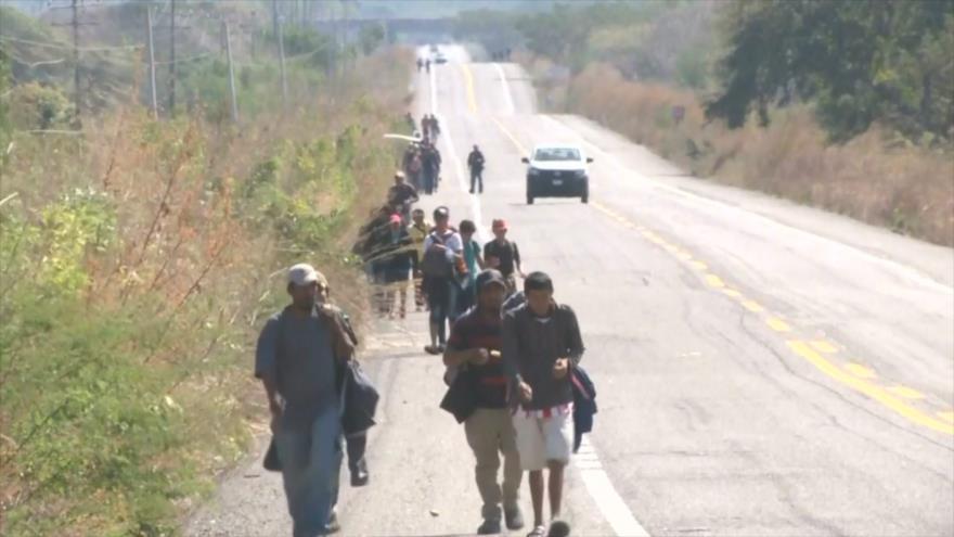 EEUU sigue devolviendo a México a inmigrantes centroamericanos