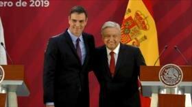 Presidente español en México en medio de tensión por Venezuela