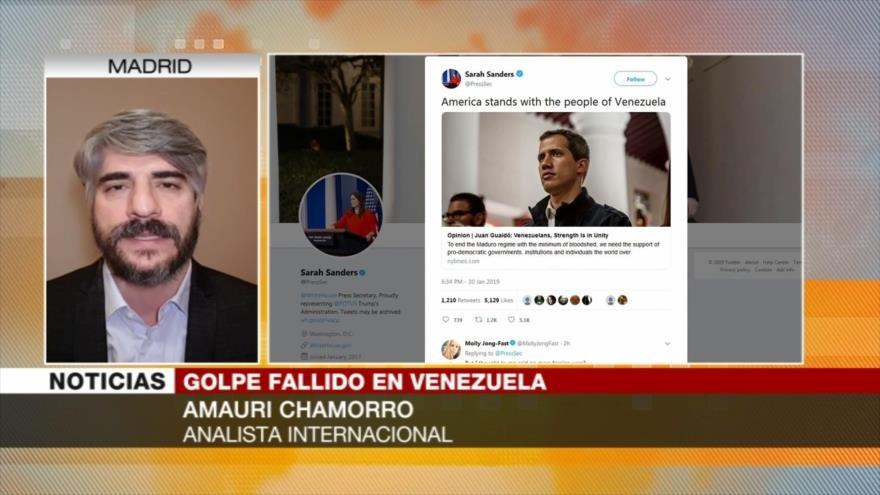 Chamorro: Fuerzas Armadas y pueblo de Venezuela respaldan a Maduro