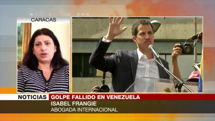 Frangie: EEUU y UE no pueden doblegar a Maduro usando a Guaidó