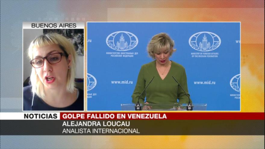 """Loucau: Golpismo, """"única salida"""" para oposición venezolana y EEUU"""