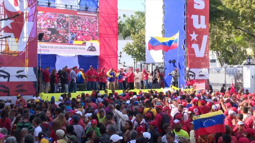 Trabajadores petroleros de Venezuela repudian sanciones de EEUU