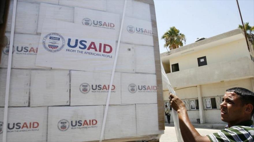 Los paquetes de la Agencia de Estados Unidos para el Desarrollo Internacional (USAID, por su acrónimo del inglés).