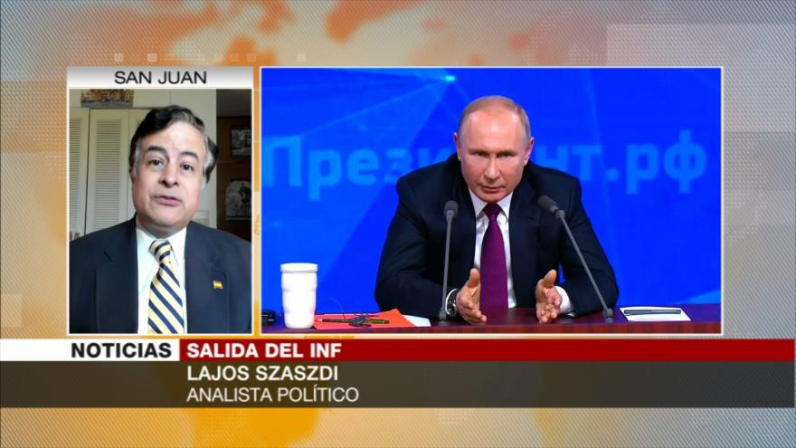 Szaszdi: Si Rusia ha violado Tratado INF, EEUU lo ha hecho también | HISPANTV