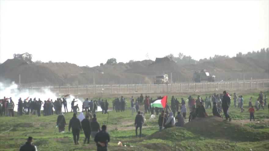 Semana número cuarenta y cinco de Marchas del Retorno en Gaza
