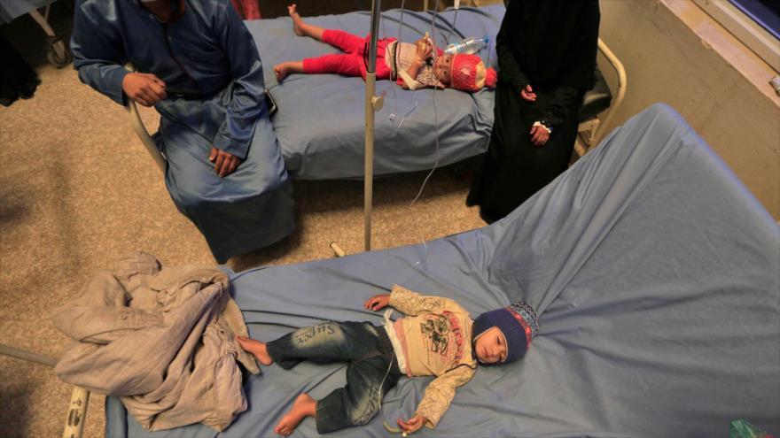Yemen denuncia guerra biológica de Riad y Washington en su contra