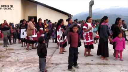 Indígenas en Chiapas sufren desplazamiento por violencia