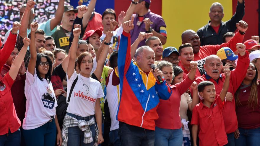 Cabello: UE, Colombia y Brasil buscan invadir Venezuela