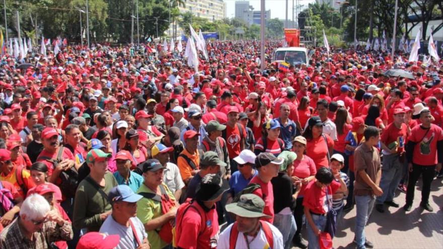 Arreaza: Guaidó no quiere diálogo, quiere guerra