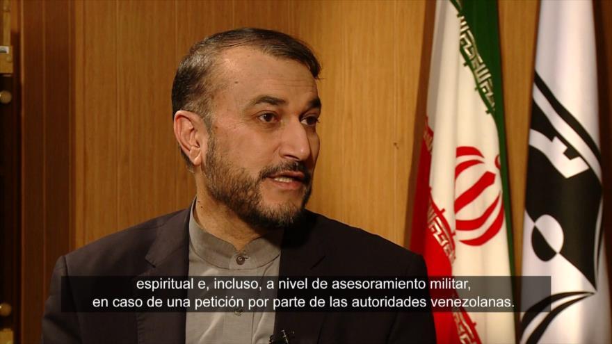 """""""Irán brindará asesoramiento militar a Venezuela si lo pide"""""""