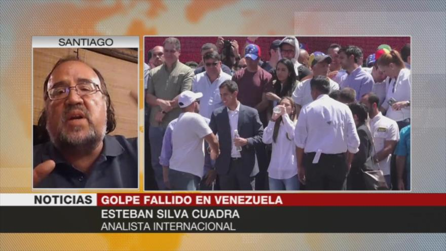 Silva Cuadra: El golpista Guaidó no representa a la oposición venezolana