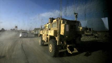 EEUU refuerza su base en Siria enviando 130 camiones de armas
