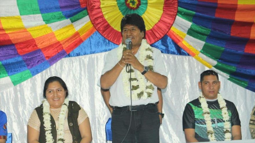 Morales: Salida de EEUU del Tratado INF es una acción antihumanista