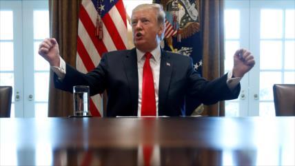 Trump sostiene que enviar militares a Venezuela es 'una opción'
