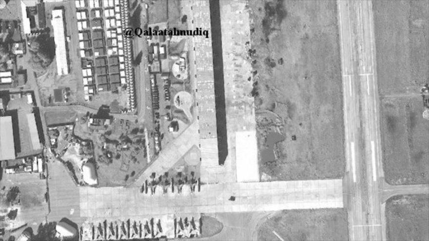 Fotos: Rusia construye refugio para aviones en su base en Siria