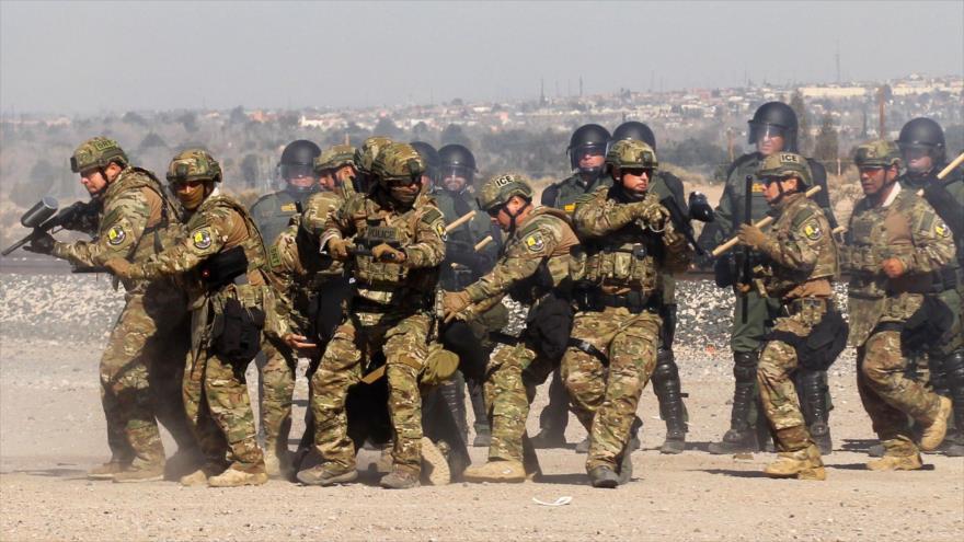 EEUU anuncia el envío de 3750 militares a la frontera con México