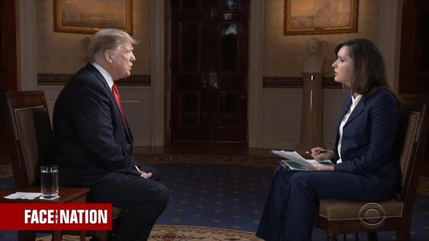 Trump reitera que opción militar en Venezuela está sobre la mesa