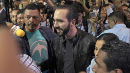 Bukele lidera elecciones en El Salvador con más de 50 %