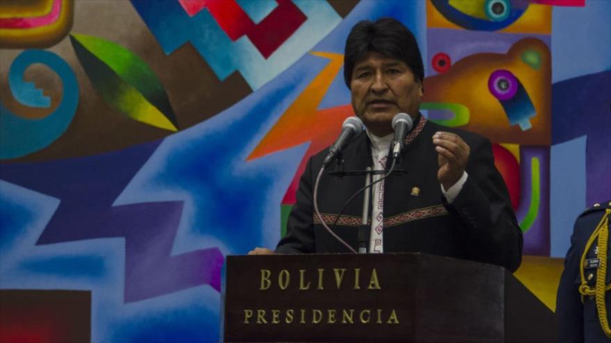 Morales pide unidad a Latinoamérica ante intervenciones de EEUU