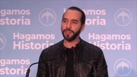 Bukele gana presidencia y pone fin a bipartidismo en El Salvador