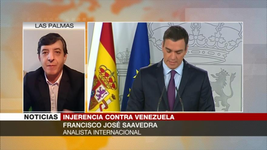 Saavedra: Coalición de ayuda humanitaria es presión de Guaidó a Maduro