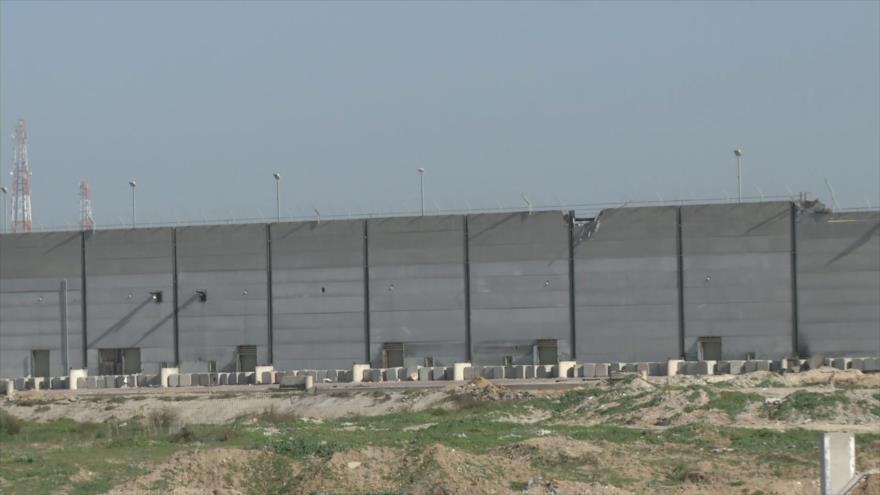 Israel construye nuevo muro a lo largo de la frontera con Gaza