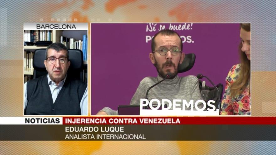 """Luque: Países europeos reconocen a Guaidó por sus """"intereses espurios"""""""