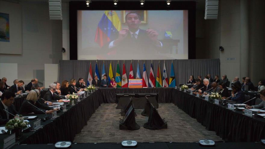 Grupo de Lima pide a militares venezolanos apoyar a golpista Guaidó