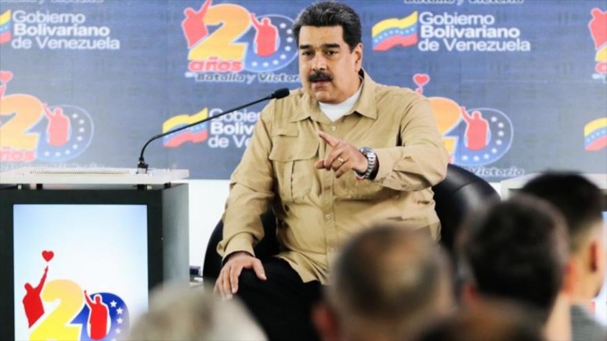 Maduro al Grupo de Lima: En Venezuela no entrará ningún soldado invasor