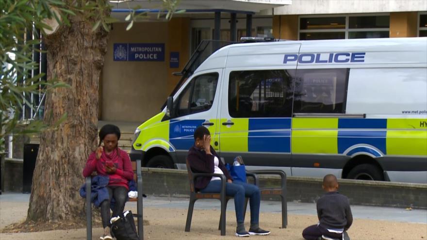Aumentan los crímenes violentos un 19 % en el Reino Unido