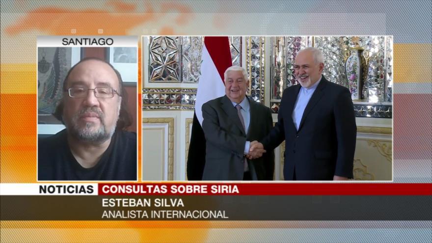 """Silva: Irán ha sido el """"estabilizador de la paz"""" en Siria"""