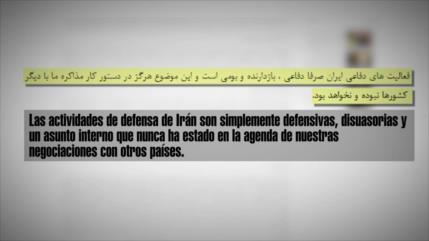 Irán descarta vínculo entre Instex y los asuntos internos del país
