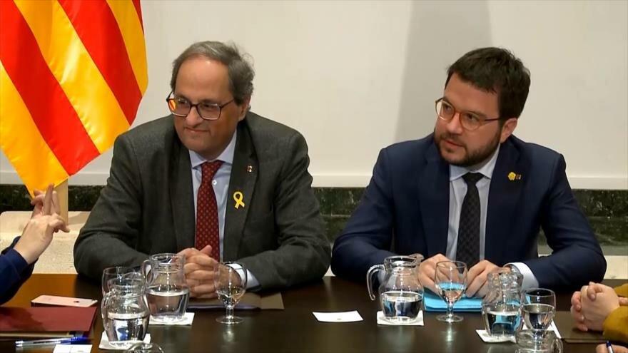 Se reanuda la mesa de diálogo en Cataluña