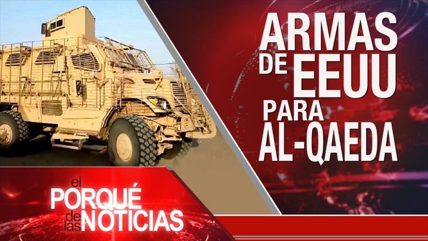 El Porqué de las Noticias: Armas de EEUU para Al-Qaeda. Autoritarismo en Egipto. Turquía apoya a Venezuela