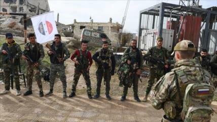 Rusia entrena a las fuerzas de élite palestinas en Alepo, Siria