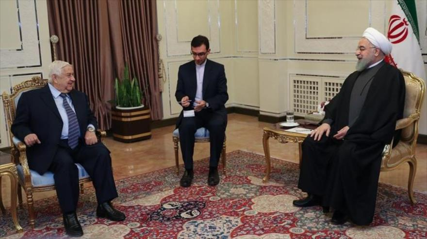 Rohani: Seguridad de Siria figura entre principales objetivos de Irán