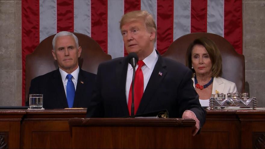 Trump promete finalizar su muro en su discurso ante el Congreso | HISPANTV