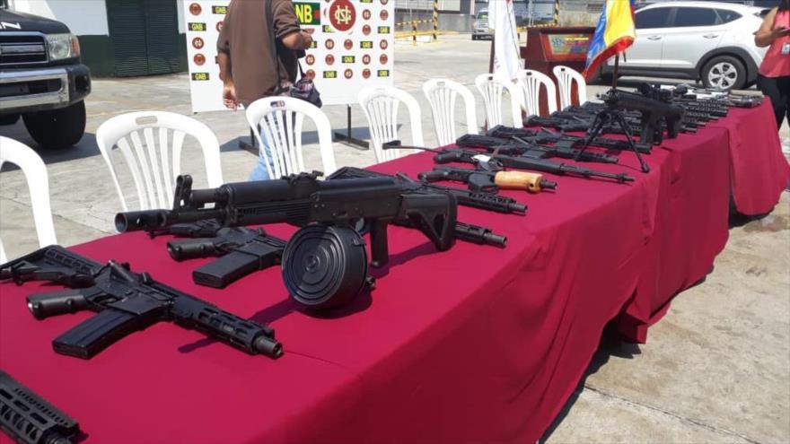 Venezuela anuncia incautación de armas de guerra provenientes de Miami