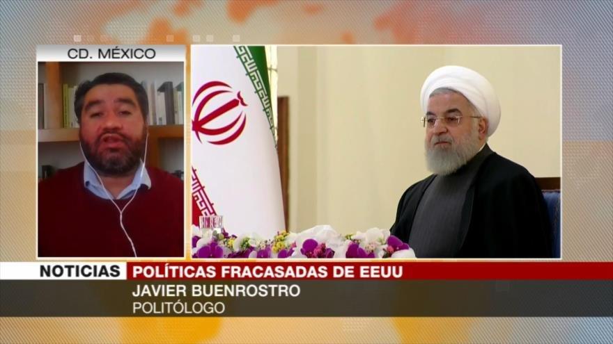 """Buenrostro: Irán es una """"piedra en el zapato"""" de EEUU"""