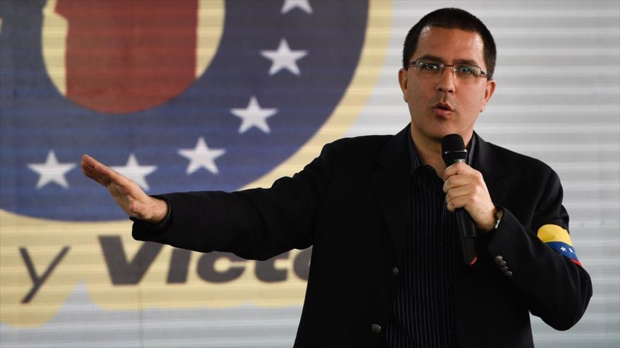 "Arreaza: Crisis humanitaria en Venezuela es un ""show"" de EEUU   HISPANTV"