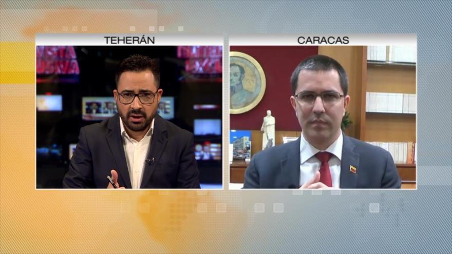Entrevista en exclusiva del canciller de Venezuela con HispanTV
