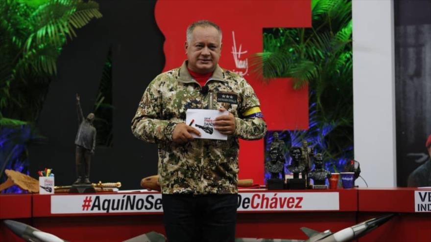 Cabello advierte: Si vienen soldados de EEUU se viene guerra irregular