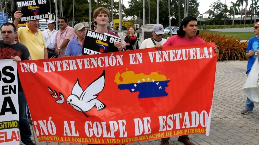 Miami pide paz y rechaza la injerencia de EEUU en Venezuela